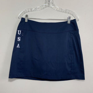 Womens Navy Blue Antigua Skort Size 8